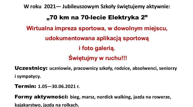 70 KM NA 70-LECIE ELEKTRYKA 2
